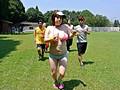 エッチな教育実習生の汗かき豊満ジョギング 小泉麻由