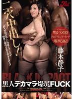 「二穴中出し!黒人デカマラ爆尻FUCK 藤木静子」のパッケージ画像