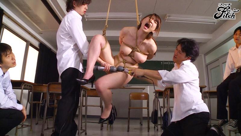 女教師緊縛奴隷~屈辱と快楽に悶える麻縄実習~ 井上瞳 の画像10