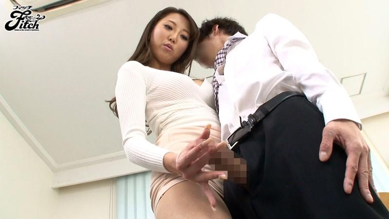 働く女の艶めかしい完全着衣ファック 松嶋葵 の画像1
