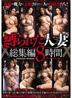 「縛られた人妻 総集編8時間」のパッケージ画像