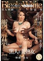 「衝撃解禁!! 黒人と美熟女 青山葵」のパッケージ画像