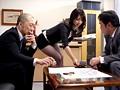 人妻タイトスカート羞恥 高井真奈 10