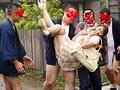 美熟女本物ハード作品!!ぶっかけの儀式 村人専用のザーメン便器になった人妻 翔田千里 1