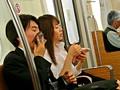 (本田岬 ムービー)弱冷房車 汗だく凌辱 ヒトヅマ 通勤快速 チカン列車
