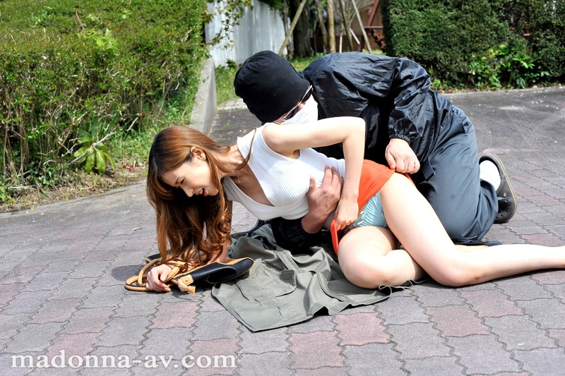 outdoor wife raped by bad guy