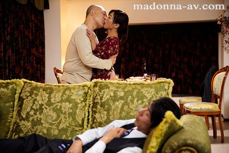マドンナ専属第3弾!! 背徳ドラマ初挑戦!! 妻が他人に抱かれてる…。 ~ねとりネトラレ寝取らせて~ 遥あやね