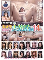 素人娘のおしっこ図鑑カメラ目掛けて大放尿する14人【kagp-086】