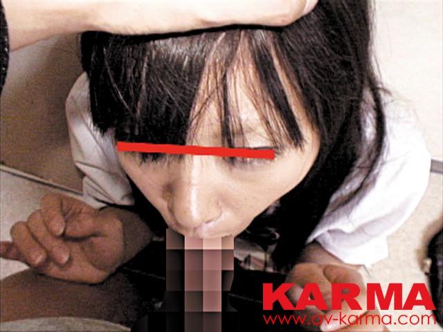 女子中○生のまだあどけない口を犯すイラマチオレイプ の画像3