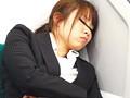 関東某私鉄沿線 リクルートスーツOL電車内居眠り パンチラ&胸チラ盗撮 1
