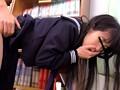 喘ぎ声も出せず声を押し殺し、溢れ出る体液で下着がぬるぬるに…図書館で犯されながらも感じてしまう女子校生たち 4