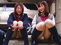 東京パンチラ天国 女子校生 2画面盗撮 1