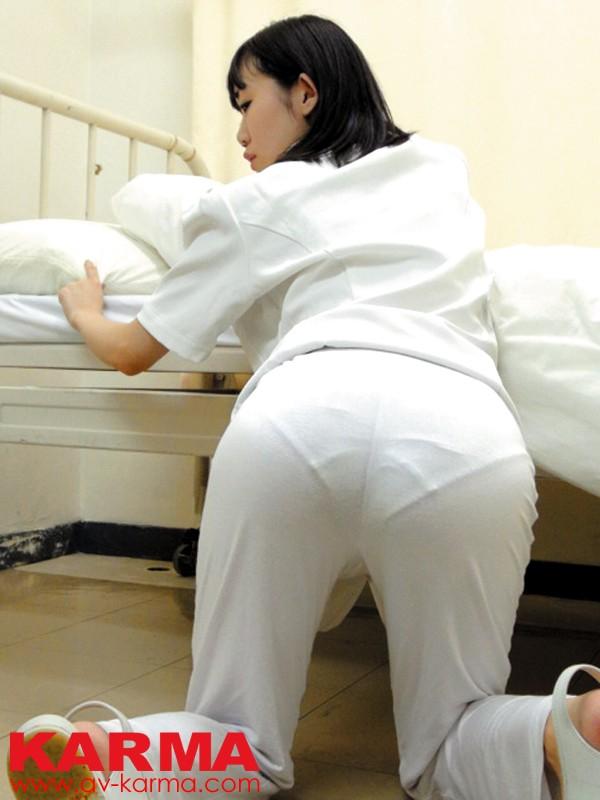 関東圏某有名大学病院内潜入盗撮 高画質盗撮 すけるパンティー ナースのお尻3 の画像1