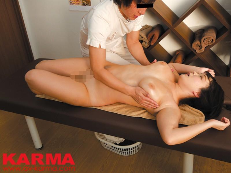 KAR-956 Sensitive Massage Massage Oil And Secret Key Points That I Can Not Tomorrow Sexy Body Hidden Camera Voyeur