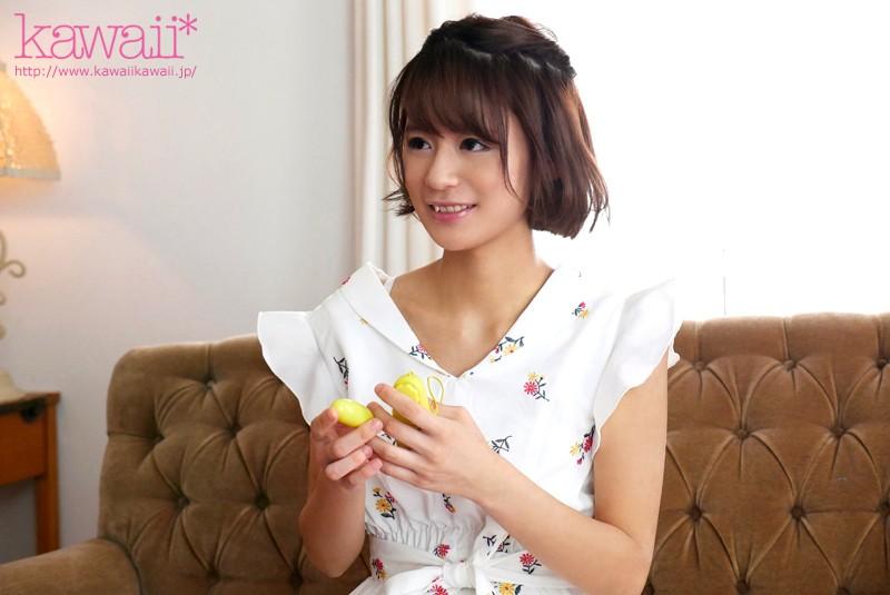 笑顔が可愛すぎると話題のネットアイドル 刺激を求めて自らkawaii*専属AV出演志願 若宮未來