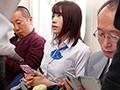 制服巨乳少女が標的にされた乳揉み痴漢電車 伊藤舞雪 1