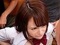 制服巨乳少女が標的にされた乳揉み痴漢電車 伊藤舞雪 6