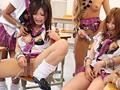 kira☆kira×E-BODY×kawaii*3メーカー連動コラボ作品第2弾!キラカワ☆E学園 HIGH SCHOOL GALS SPECIAL 壮絶中出し大乱交 サンプル画像3