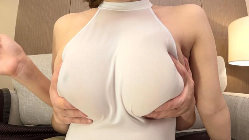 デカすぎるパイオツは着衣でこそ輝く。恥さらし爆乳Jカップみくる の画像15