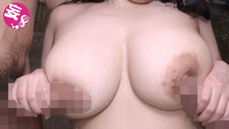 田舎旅館の地味メガネな若女将さんが爆乳Iカップ晒して決意の応募デビュー!!藍さん の画像3