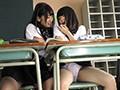 デカパイ女子●生とちっぱい女子●生の学校こっそりレズえっち 霧島さくら 生田みく 6