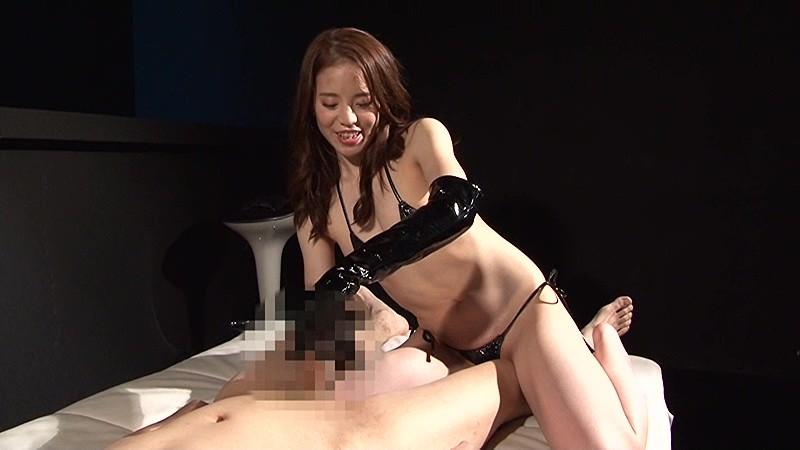 ザ☆エナメル痴女 手コキ男犯 連射・男の潮吹き・尿道・亀頭・睾丸責め の画像8