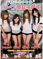 「私立泡姫商業 ソープ部女子校生」のパッケージ画像