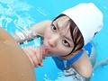 ハミ乳競泳水着インストラクター 神川ひな 1