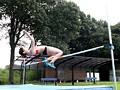 走り高跳び県大会記録保持者の長身アスリートSEX!! 平沢なつ 3