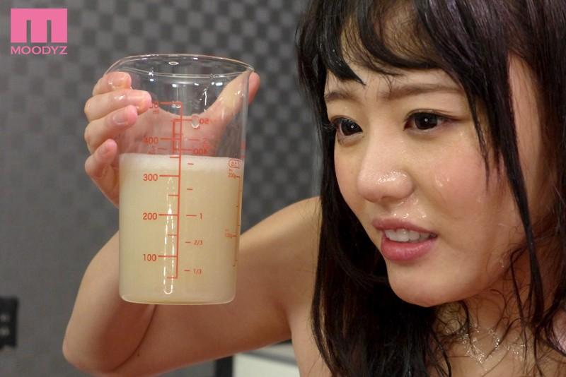 浜崎真緒の大量精飲4