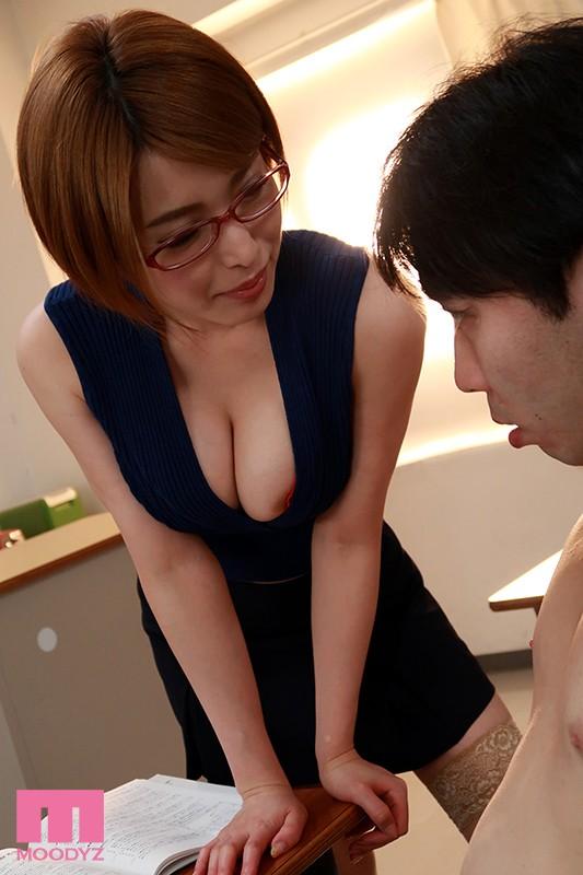 働くお姉さんのお仕事 ビジネス淫語を囁き射精へ導く痴女的スキル 君島みお の画像2