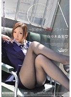 CA-脚線美の誘惑フライト- 佐々木香里奈