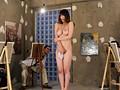 全裸でヌードモデルをさせられた妻 仁科百華 サンプル画像3