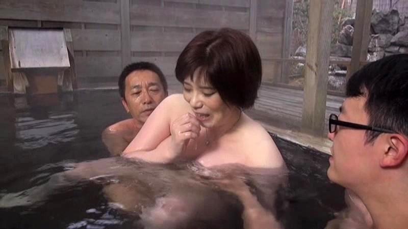四十路で初撮り 郡山からたわわに熟した巨乳の未亡人がAVデビュー 佐竹舞子 の画像17