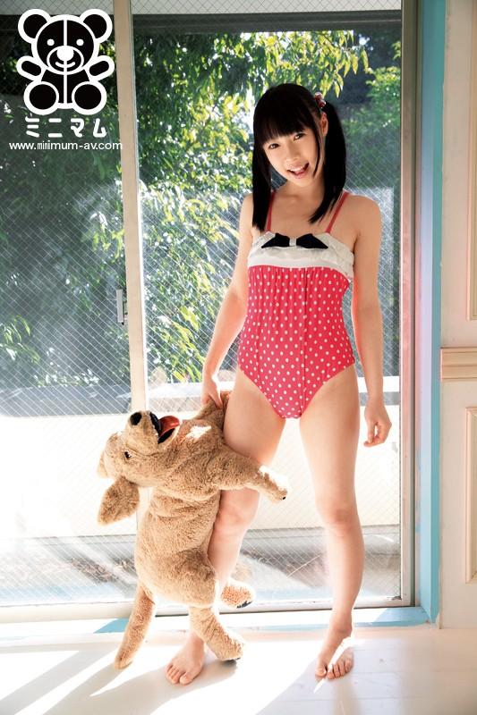 R15のイメージビデオで超人気だった女の子がまさかのAVデビュー!ミニマムでの名前は「桃色さくら」です。 の画像1
