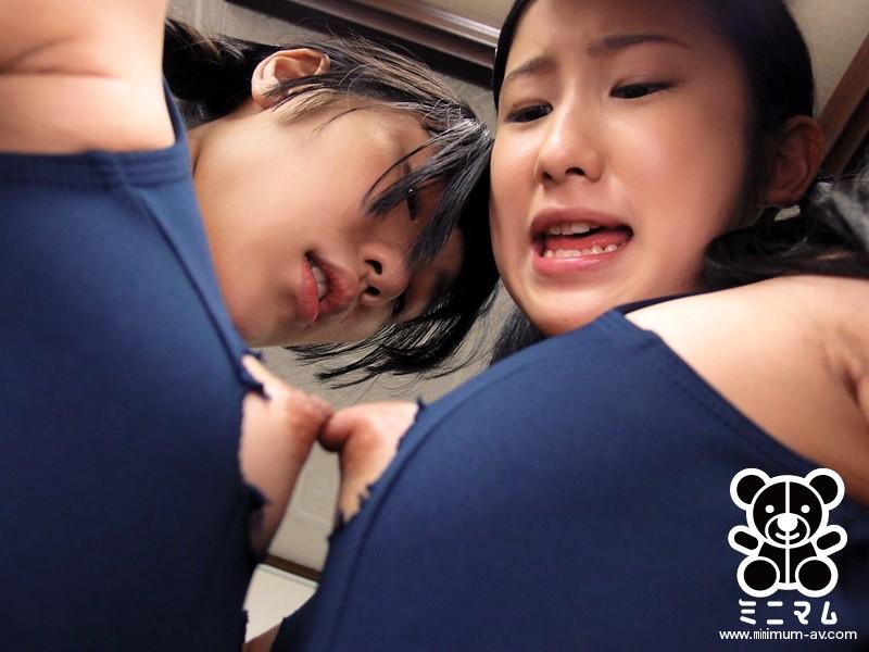 仲良し2人組の女の子を1本の生チ●ポで本物の穴姉妹にしてあげる。いちごとすず(ダブル無毛) の画像9