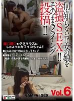 「何も知らない!?女の娘を盗撮SEX!! そのままフライング投稿!!vol.06」のパッケージ画像