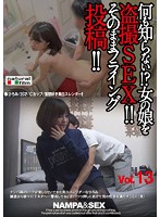 何も知らない!?女の娘を盗撮SEX!!そのままフライング投稿!!vol.13