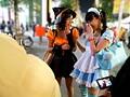 ハロウィン素人中出しナンパ 街角でひときわ目立つ可愛い女子をパーティールームに連れ込んでノリと勢いで中出しSEX!