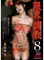 「限界調教8 朝桐光」のパッケージ画像