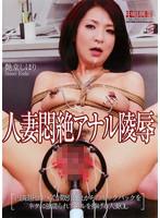 「人妻悶絶アナル陵辱 艶堂しほり」のパッケージ画像