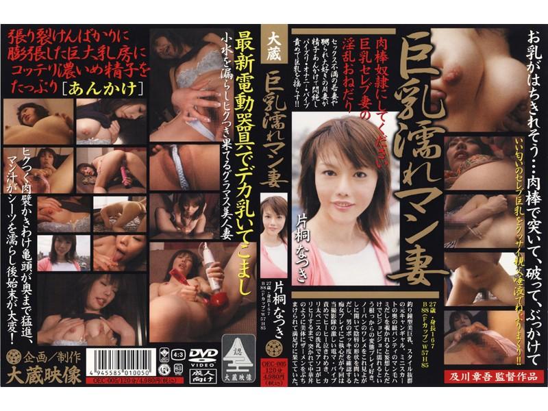 巨乳の痴女、片桐なつき出演のパイズリ無料熟女動画像。巨乳濡れマン妻 片桐なつき