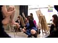 某女子大の美術部に潜入!(4)〜デッサンモデルにフェラチオまでしてしまう美人部員 サンプル画像3