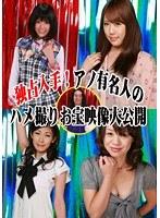「独占入手!アノ有名人のハメ撮りお宝映像大公開」のパッケージ画像
