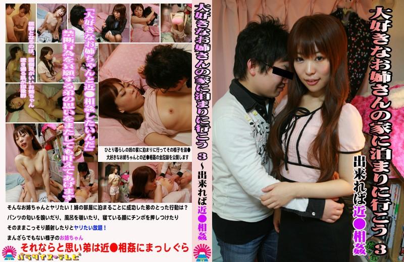 大好きなお姉さんの家に泊まりに行こう(3)〜出来れば近●相姦