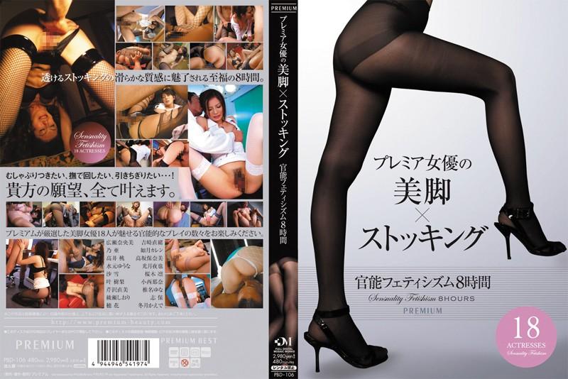 プレミア女優の美脚×ストッキング 官能フェティシズム8時間