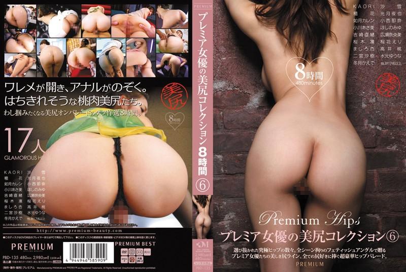 プレミア女優の美尻コレクション 6