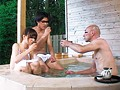 [POST-332] 山梨県・混浴露天風呂 露天風呂カップルの彼氏を眠らせデカチン18cmを彼女にみせつけたらヤレた!5「観光ですか?いい湯ですよね よかったらお二人も地酒でもどうぞどうぞ」