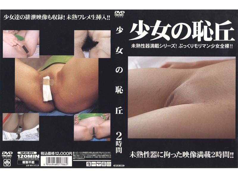 パイパンの素人女性の脱糞無料美少女動画像。少女の恥丘