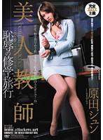 「美人教師 恥辱の修学旅行 原田ジュン」のパッケージ画像